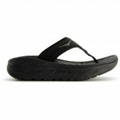 Hoka One One - Women's Ora Recovery Flip - Sandalen maat 6, zwart