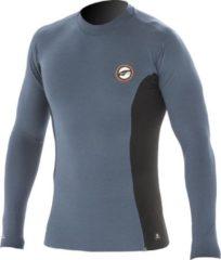 Pro Limit Prolimit - Zwemshirt voor heren met lange mouwen - Grijs / zwart - maat M