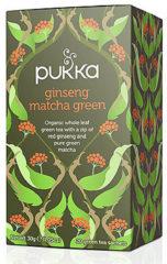 Pukka Org. Teas Ginseng matcha groen 20 Stuks