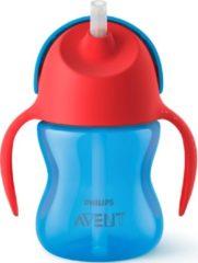 Rode Philips Avent SCF796/01 - Drinkbeker met rietje 9m+ - 1 stuk - Blauw/rood