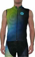 Blauwe Spinning® Inspire Heren Mouwloze Jersey Small