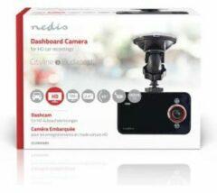 Zwarte Nedis DCAM06BK Dashcam Hd 720p 1 Ch 2,4 Inch Kijkhoek Van 60°
