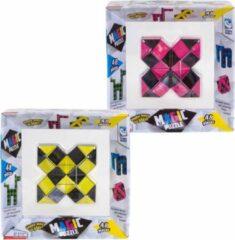 Clown Games Clown Magic Puzzle 48dlg Geel + Puzzle 48dlg Roze
