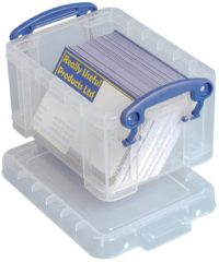 Really Useful Box Opbergdoos 0.3C Transparant 0.3 l (b x h x d) 120 x 65 x 85 mm