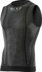 SIXS Carbon Ondershirt Zonder Mouwen Zwart Carbon Unisex XL