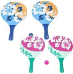 Summertime Beachball Set Bloemenprint 3-delig Assorti