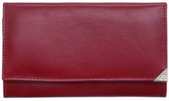 Rode DR Amsterdam Toronto Dames Portemonnee red Dames portemonnee