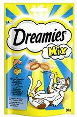 Dreamies Cat Snacks Mix - Zalm & Kaas - 60 gram