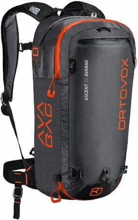 Afbeelding van Ortovox - Ascent 22 Avabag Kit - Lawinerugzak maat 36 - 44 cm, zwart/grijs