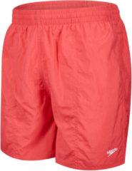 Rode Speedo Solid Leasure zwembroek 41cm - Zwemkleding volwassenen
