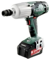 Metabo SSW 18 LTX 600 Accuslagmoersleutel LiHD Incl. 2 accus, Incl. accessoires