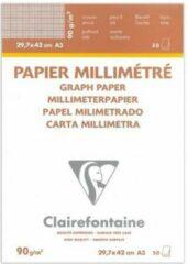 Witte Clairefontaine Velijn Ruitjespapier – A3