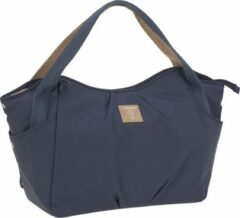 Blauwe Lässig Luiertas groen Label Twin Bag Triangle Navy