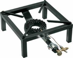 Roestvrijstalen Bartscher Gaskooktoestel 75 kW beveiligd| 40(b) x 57(d) x 17(h) cm