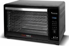 Zwarte TurboTronic TT-FD30D Digitale Metalen Voedseldroger