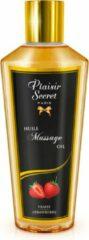 Plaisirs Secrets Massage Olie AARDBEI- PLAISIR SECRET