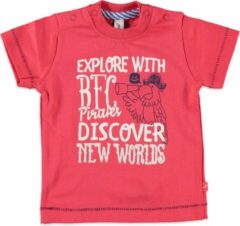 Babyface Jongens T-shirt - Rood - Maat 62