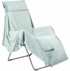 Groene Lafuma Fleece plaid - voor in Relaxstoel - Knuffeldeken - Green