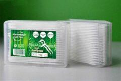 Macromolecule Care Floss Premium 2 in 1 Flosboogjes en Tandenstokers   Mondhygiëne   Voor witte tanden en frisse adem   Flosdraad   Tandenstokers   50 Stuks   Wit