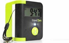 Humantechnik TravelTim   Digitale Reiswekker met trilfunctie   Slechthorenden   Doof   Zwart en Groen