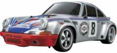 Tamiya TT-02 Porsche 911 Carrera RSR Brushed 1:10 RC auto Elektro Straatmodel 4WD Bouwpakket