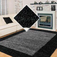 Life Hoogpolig Vloerkleed - Bonaire - Rechthoek - Antraciet - 120 x 170 cm - Vintage, Patchwork, Scandinavisch & meer stijlen vind je op WoonQ.nl