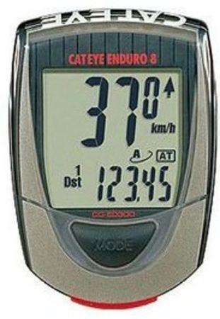 Afbeelding van Rode Cateye CC-ED400 Enduro - Fietscomputer - Bedraad - Off-road - Rood / Zwart