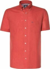 Campbell 052910 681 Donkerrood uni Heren Overhemd Maat L