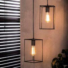 Antraciet-grijze Easy Furn Hanglamp Nox - 3 Lichts