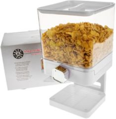 Witte United Entertainment Luxe Enkelvoudige Cornflakes Dispenser - Wit