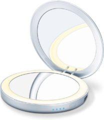 Beurer verlichte make-upspiegel BS 39, geïntegreerde powerbank voor opladen van smartphones etc.
