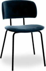 Blauwe RoomForTheNew Conferentiestoel M5- Vergaderstoel - Conferentiestoel - luxe stoel - stoel - vergaderen - eetkamerstoel - conferentie stoel - vergader stoel