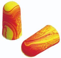 Rode ESVSHOP.nl 3M EAR wegwerp oorpluggen Soft, 250 paar/VE , geel-rood