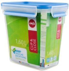 Dose 3D Perfect Clean Clip & Close EMSA Transparent, Blau