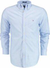 Blauwe Gant Heren Overhemd Maat 3XL