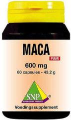 SNP Maca 600 mg puur Capsules