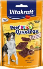Vitakraft Beefstick Hond Quadros - Hondensnacks - Kaas - Hondenvoer
