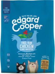 Edgard & Cooper Verse scharrelkip & MSC-witvis Brok - Voor senior katten - Kattenvoer - 300g