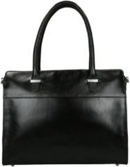 Zwarte Claudio Ferrici Classico Businessbag 15'' black