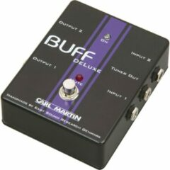 Carl Martin Buff DeLuxe Dual High Quality Signal Buffer Pedal