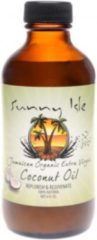 Sunny Isle Jamaican Organic Extra Virgin Coconut Oil Replenish & Rejuvenate !00% Natural - No Salt added 6 Oz