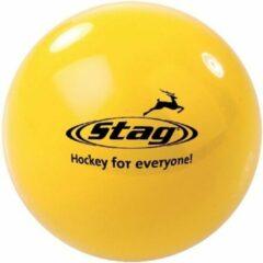 Merkloos / Sans marque Hockeybal glad - reject - geel
