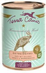 Terra Canis Graanvrij - Kalkoen met Selderij - 6 x 400 g