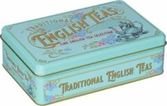New English Teas Vintage Victorian Tin English Selection Totaal 72 Teabags English Afternoon - Earl Grey - English Breakfast