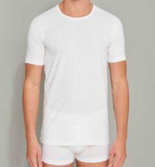 Schiesser Heren Shirt 1/2 - Wit - 2 pack- R Hals-Maat XXL
