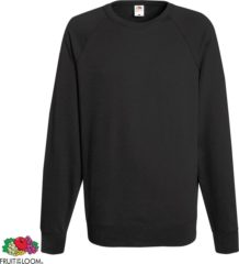 Grijze Fruit of the Loom sweater ronde hals maat XL Heren (licht grafiet)