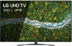 "Zwarte LG 43UP78006LB tv 109,2 cm (43"") 4K Ultra HD Smart TV Wi-Fi Grijs"