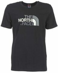Zwarte T-shirt Korte Mouw The North Face S/S EASY TEE