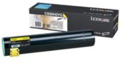 Gele LEXMARK C935 tonercartridge geel standard capacity 24.000 pagina s 1-pack