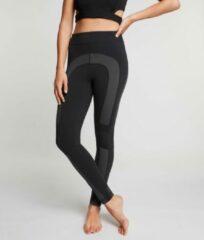 Zense Sportswear Zense - Dames Yoga Legging Leah Colorblock - Zwart - L